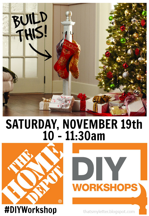 diy workshop stocking post