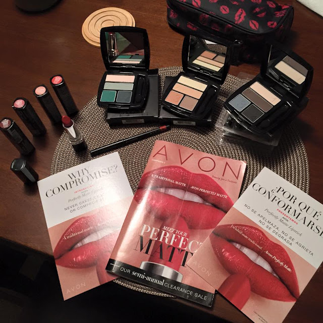 The Matte Collection Not only available in Avon Lipsticks, but Avon quad matte eye-shadows as well. Available Now!