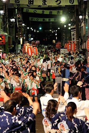 Yoshida Matsuri (summer festival), Tsubame City, Niigata Pref.