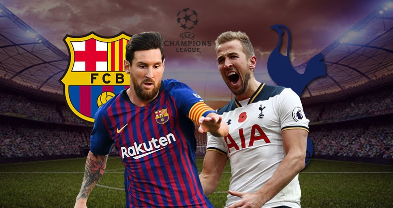 DIRETTA BARCELLONA TOTTENHAM Streaming Gratis con SkyGo | Champions League