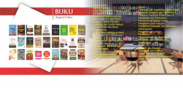 Daftar dan Katalog Buku Mulok Bahasa Jawa