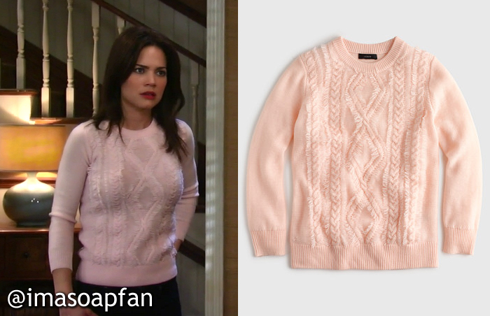 Buy Cheap Cheapest Price Knitted Sweater - Pink J.crew Best Place Online Discount Amazing Price Shop Offer Cheap Online Cheap Enjoy 0rX3k