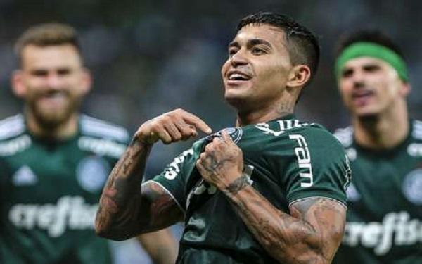 Jogador Dudu do time do Palmeiras (Imagem: Reprodução/Internet)