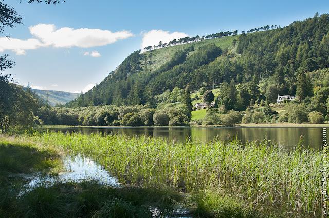 Lago Glandalough Condado Wicklow Irlanda