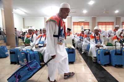 Pergi Berangkat Haji tapi tak dapat pahala