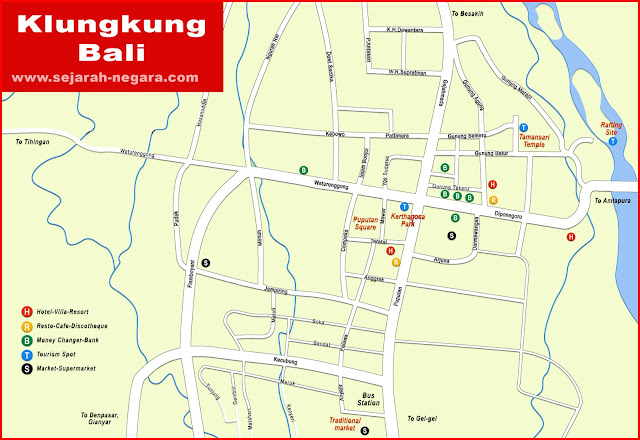 image: Klungkung Map High Resolution