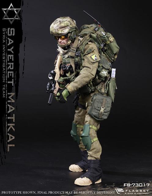 toyhaven: Flagset 1/6th scale IDF Sayeret Matkal (Syria