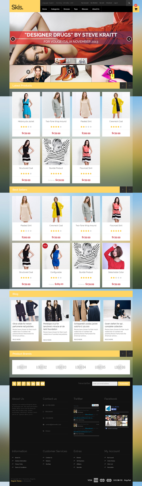 eCommerce template download