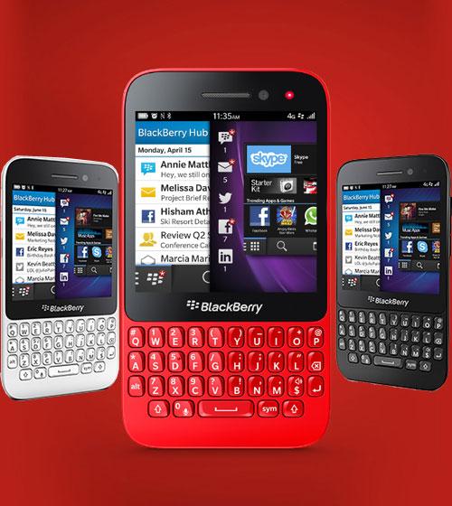 BlackBerry Q5 Pictures