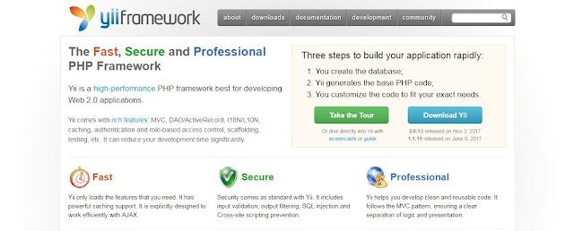 10 Daftar Framework PHP Untuk Pengembang Web