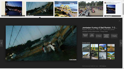 Jembatan penghubung Nusa Lembongan dan Nusa Ceningan Bali roboh pada 16 Oktober 2016 pukul 18 WITA