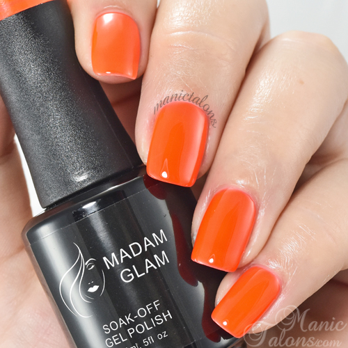 Madam Glam Gel Polish Sexy and I Know It Swatch