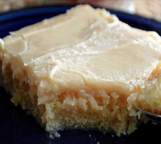 PEANUT BUTTER TEXAS SHEET CAKE WITH PEANUT BUTTER ICING