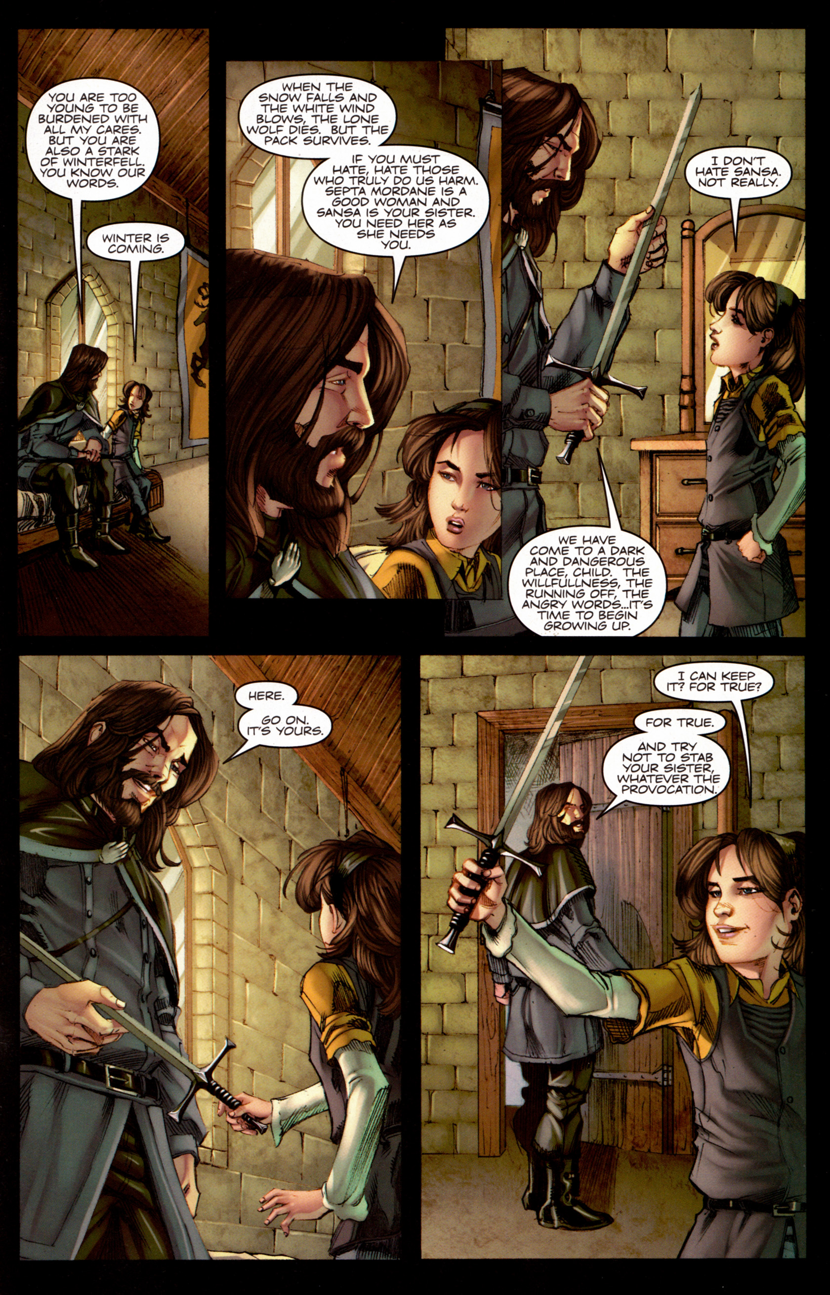Read online A Game Of Thrones comic -  Issue #7 - 18