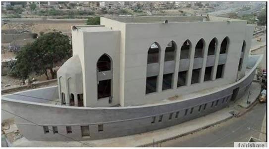 Masjid Berbentuk Kapal Di Pakistan