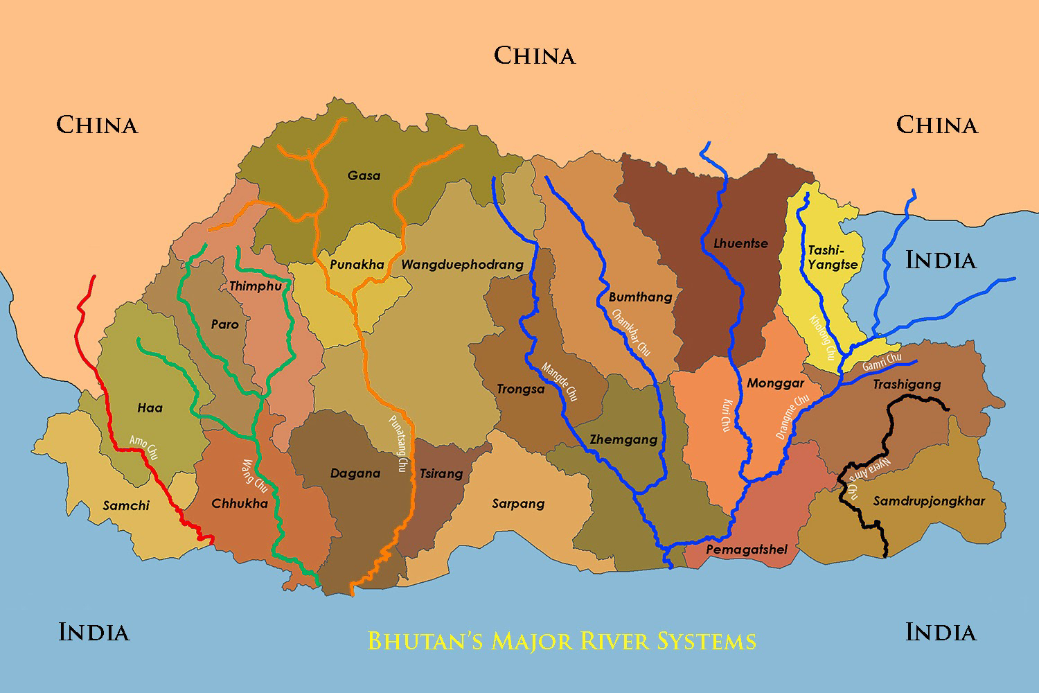 Map Us Rivers Picture Ideas References - Map Of Us River Systems