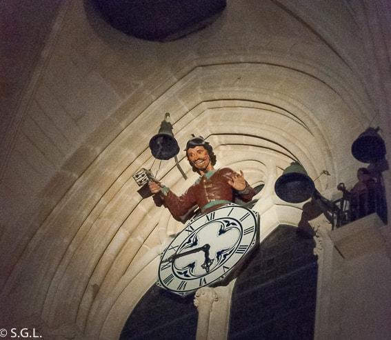Papa moscas. Catedral de Burgos