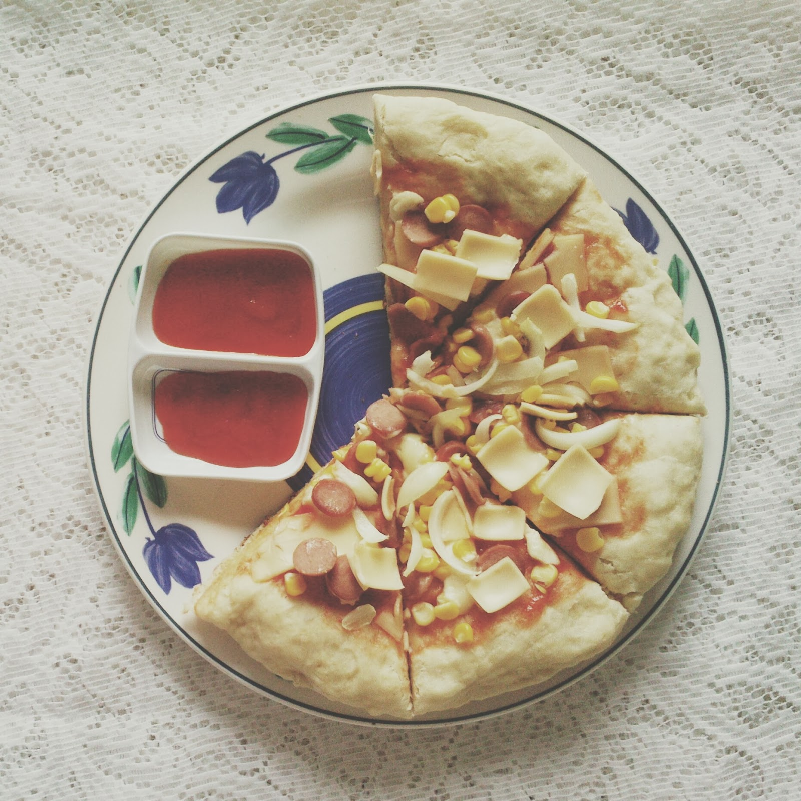 Resep Pizza Tanpa Oven Jadi Ceritanya Hari Sabtu Kemarin Aku Nyobain Bikin Resepnya Dapat Dari Dapur Umami