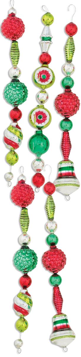 Christopher Radko Holiday Splendor Shaped Icicles (set of 5)