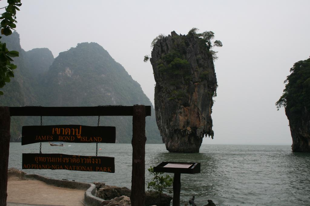 Ko Tapu Rock Quot James Bond Island Quot Geology Page