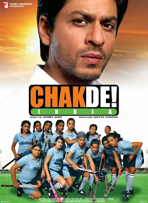 Poster Of Bollywood Movie Chak De India (2007) 300MB Compressed Small Size Pc Movie Free Download worldfree4u.com