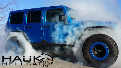 Hellcat powered Jeep Jk