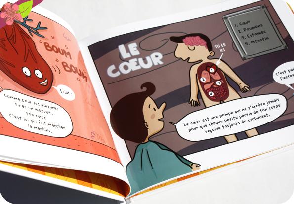 Les découvertes de Super Mi : En route pour le corps de Cee Cee Mia et Julie Lecomte - Samir Éditeur