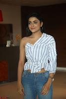 Avantika Mishra in One Shoulder Crop Top and Denim Jeggings ~  Exclusive 007.JPG