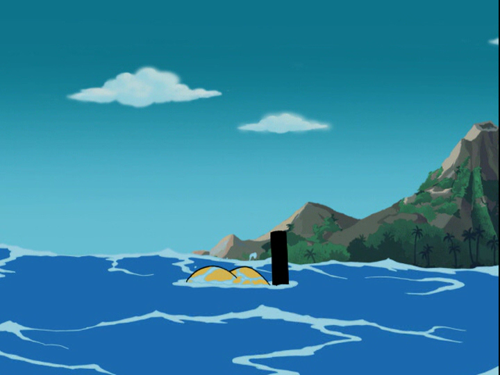 What's New Scooby-Doo: She sees a Sea Monster by the Sea