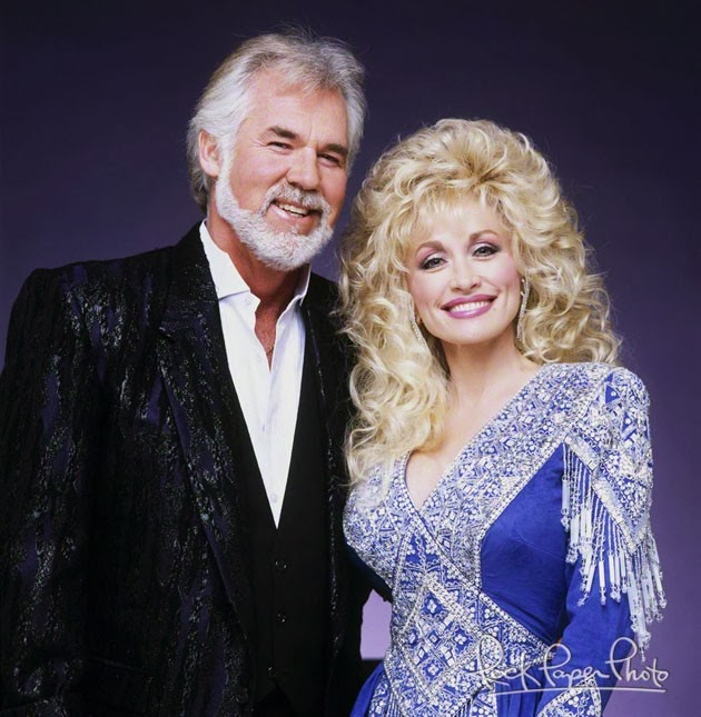 Harris Sisters GirlTalk: Kenny and Dolly- Together Again