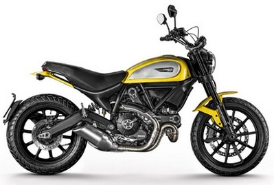 Harga Ducati Scrambler Icon Yellow