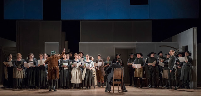 Mozart: The Marriage of Figaro - English National Opera (photo Alastair Muir)
