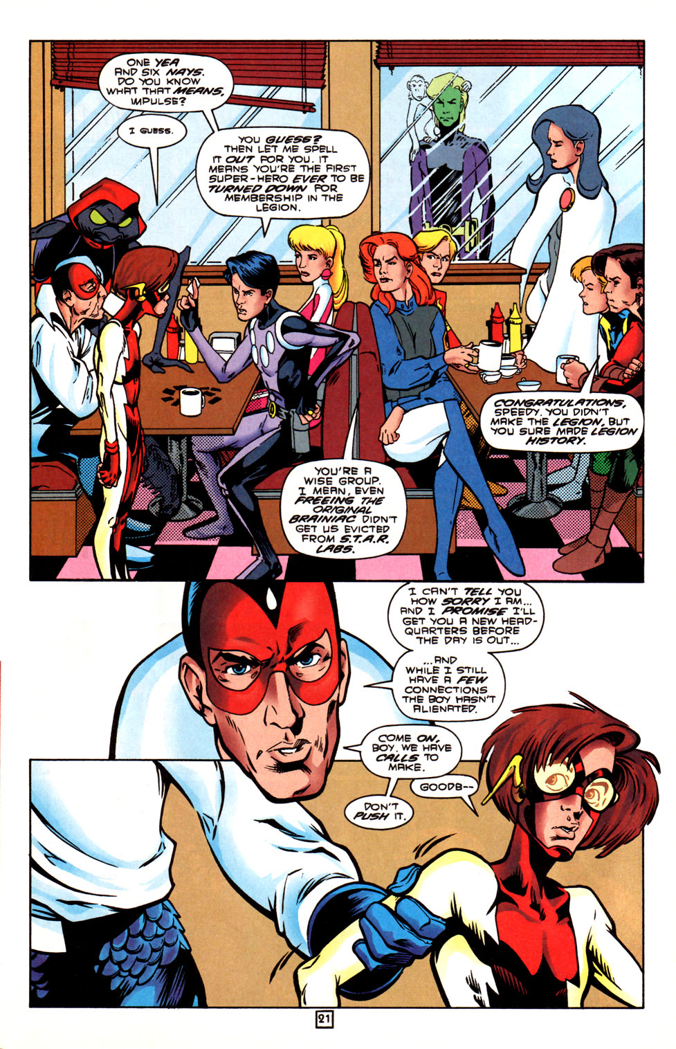 Legion of Super-Heroes (1989) 88 Page 21