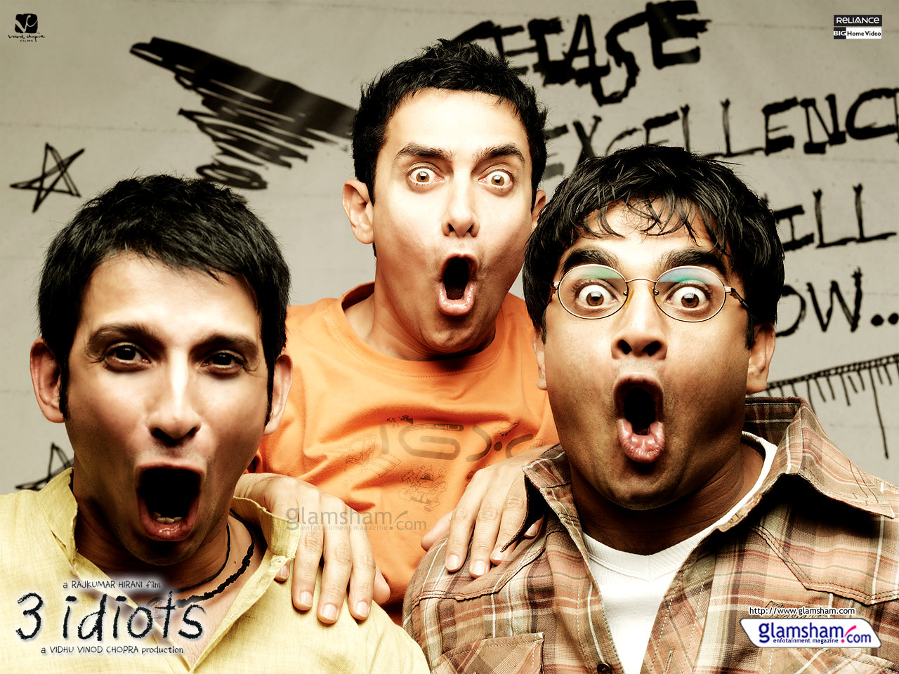 3 idiots characters and descriptions