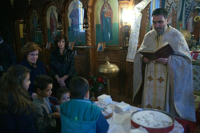 Αφιερωμένη στα παιδιά και στους ηλικιωμένους η Πρωτοχρονιά στην ενορία Κεστρίνης Θεσπρωτίας