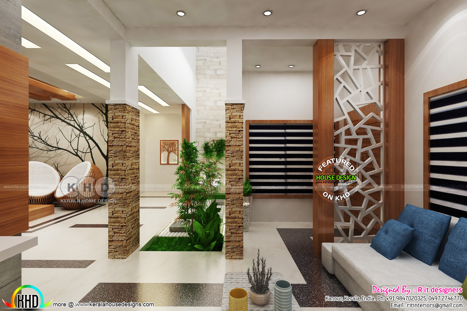 High quality modern interior designs - Kerala home design and floor plans - 8000+ houses