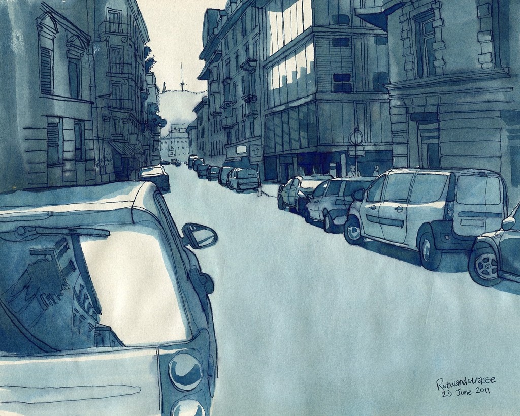 08-Zürich-Rotwandstrasse-Rupert-Taylor-Blue-Architectural-Urban-Drawings-www-designstack-co