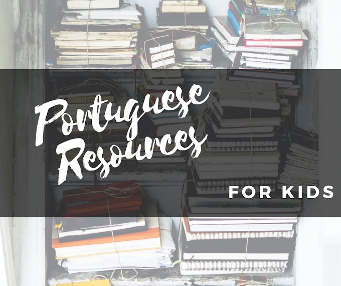 Our favourite Portuguese resources for little learners