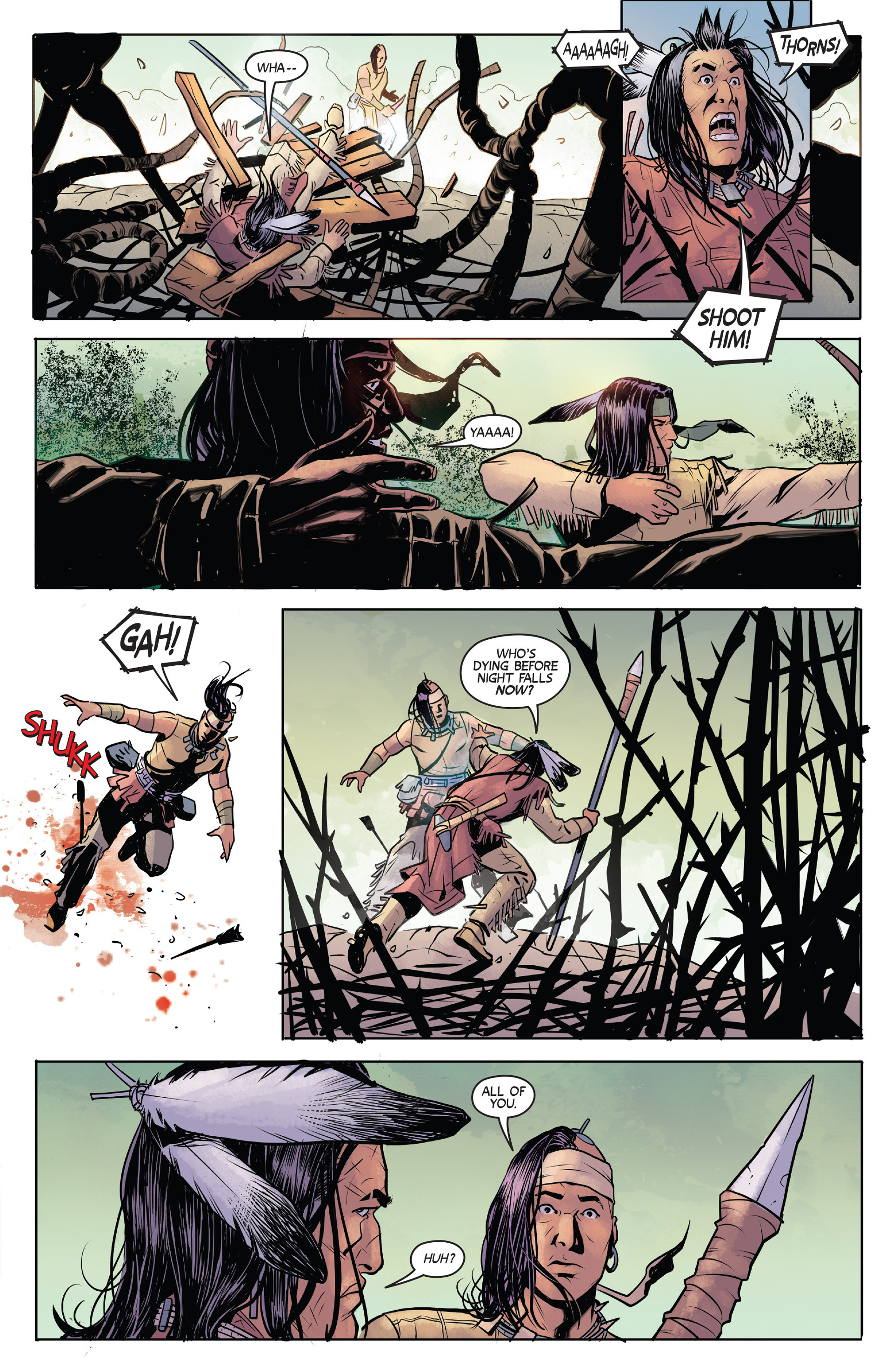Read online Turok: Dinosaur Hunter (2014) comic -  Issue #1 - 17