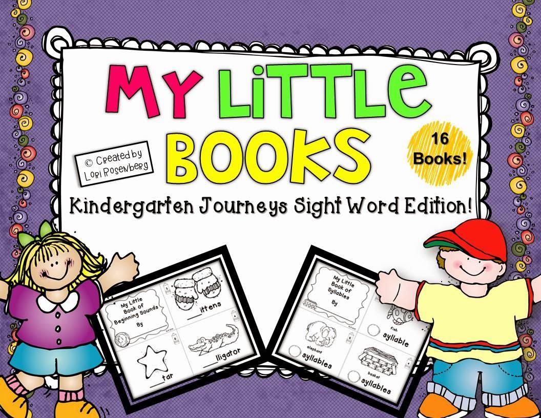 Sight Word Booklets Kindergarten