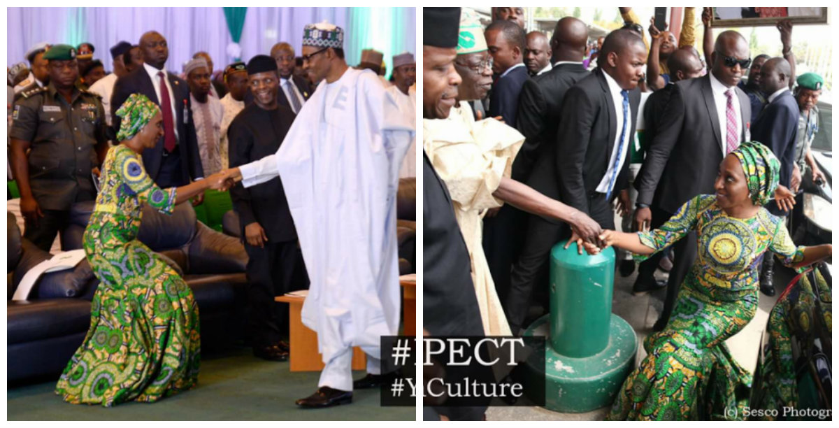 Amazing stories around the world photos nigeria s vice president s