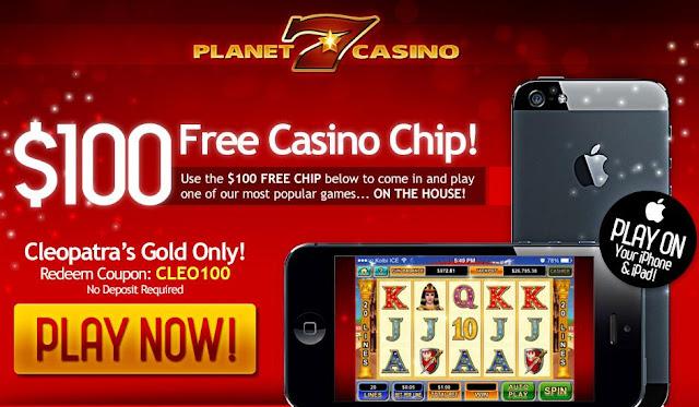 Planet 7 Casino Bonus codes