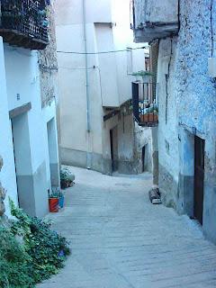 lo castellá, lo castellà, barrio, Beceite, Beseit, casco antiguo de Beceite 4