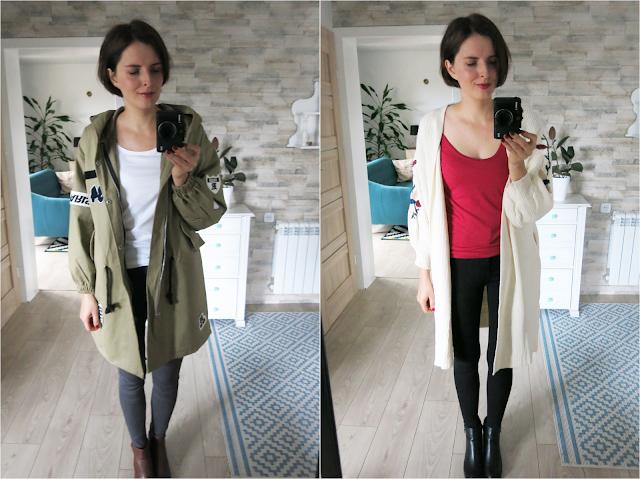 Hooded jacket | Embroidery cardigan | Kurtka | Haftowany kardigan