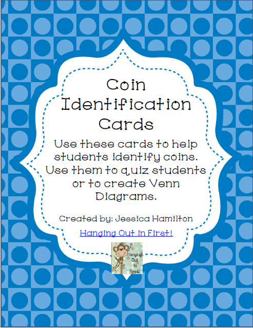http://www.teacherspayteachers.com/Product/Coin-Identification-Cards-1233493