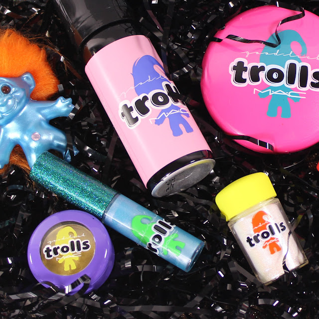 MAC Good Luck Trolls Swatches & Review