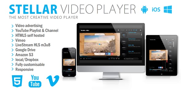 CodeCanyon - Stellar Video Player v1.2
