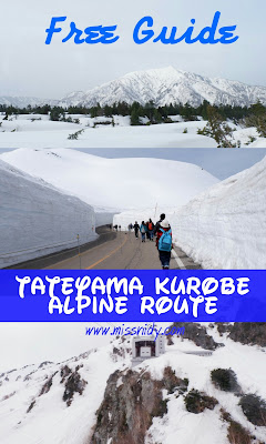 free guide to tateyama kurobe alpine route