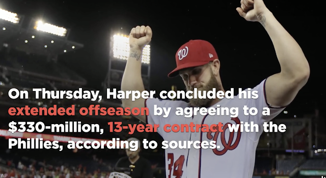 Giants offer to Bryce Harpers suggests California taxes played role