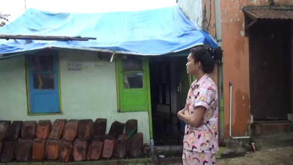 korban puting beliung belum dapat bantuan pemda majalengka